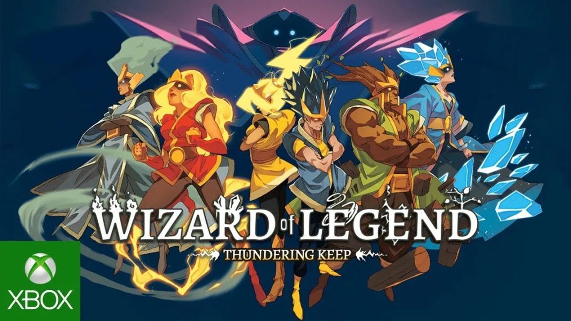 Humble Bundle Presents: Wizard of Legend – Thundering Keep Update Trailer