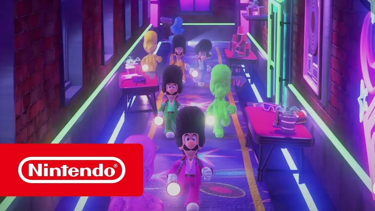 Luigi's Mansion 3 – Primeira parte do Conjunto Multijogadores (Nintendo Switch)