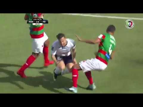 Marítimo 3-(1) Feirense (Liga 24ªJ): Golo de Babanco