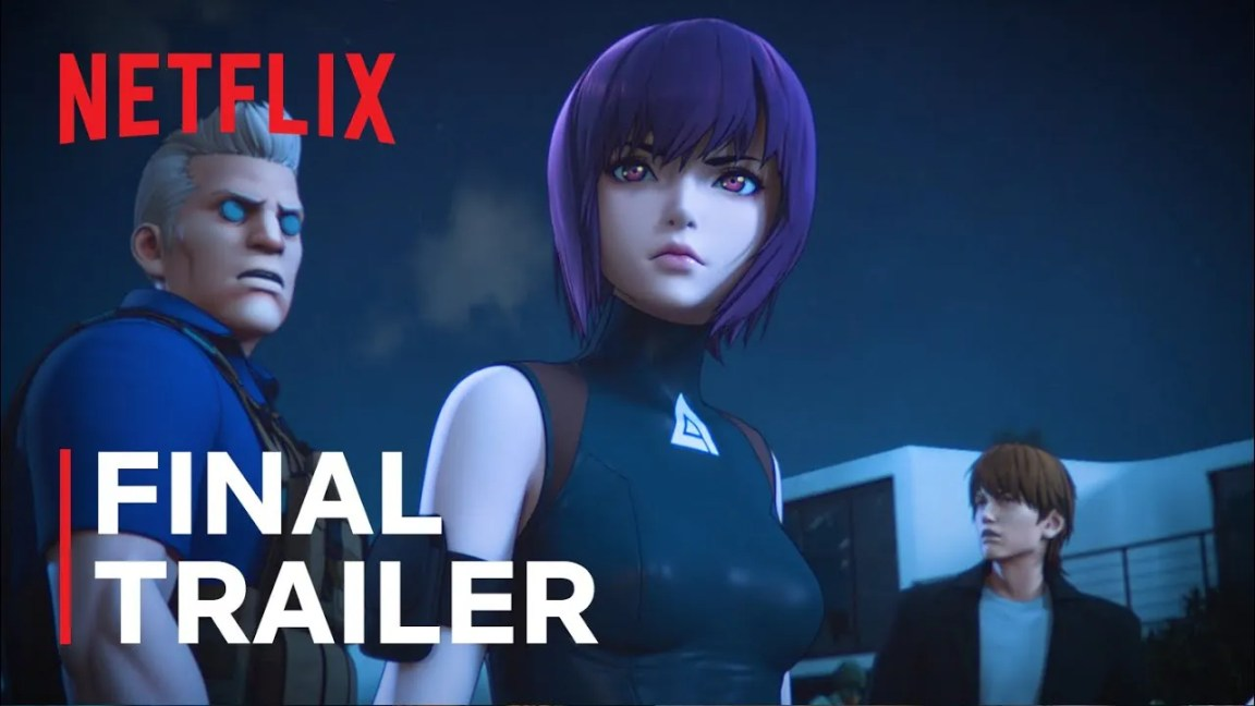 Ghost in the Shell, Ghost in the Shell: SAC_2045 | Final Trailer | Netflix, CA Notícias, CA Notícias