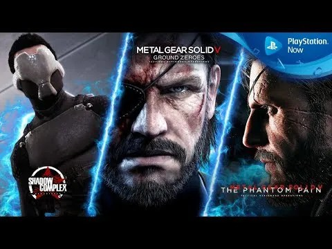 Metal Gear Solid V: The Phantom Pain chegou ao catálogo do Playstation Now