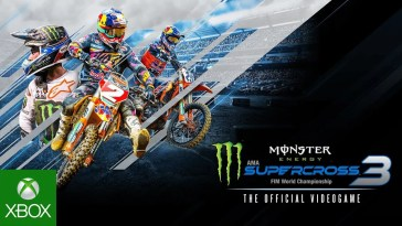 Monster Energy Supercross – The Official Videogame 3 | Announcement Trailer