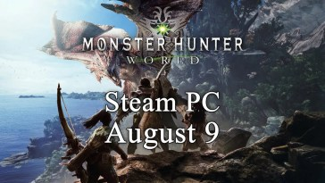 Monster Hunter: World chega ao PC em Agosto