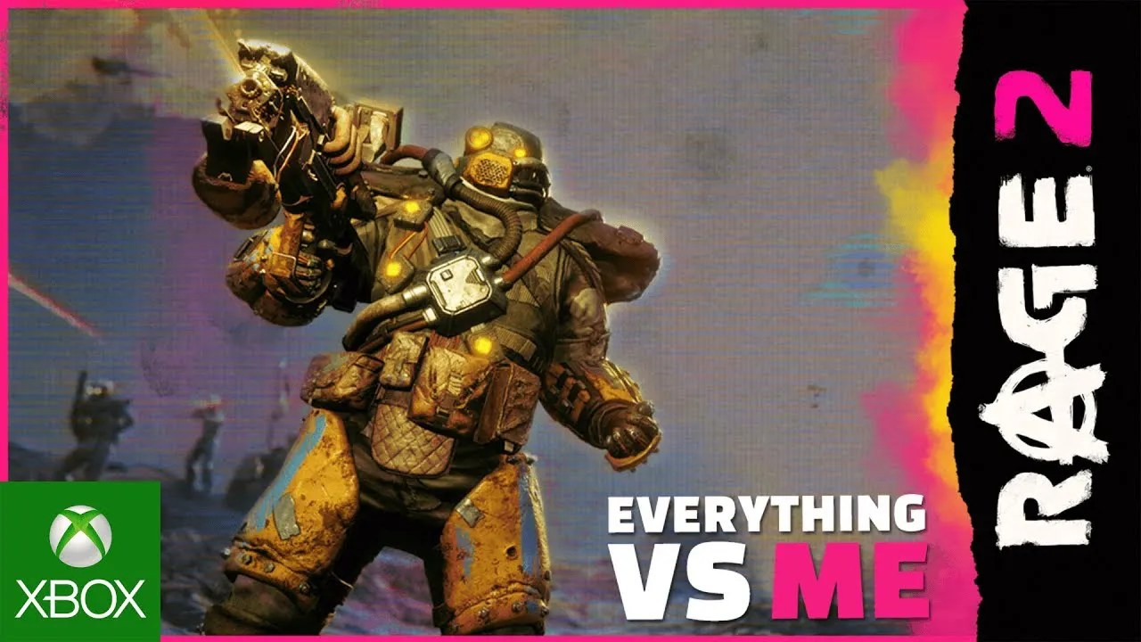 RAGE 2: Everything vs. Me Trailer