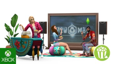 The Sims 4 Movie Hangout Stuff: Xbox One Trailer Oficial