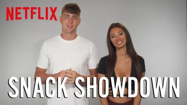 The Cast of Too Hot to Handle Tries Snacks From Around The World | Netflix