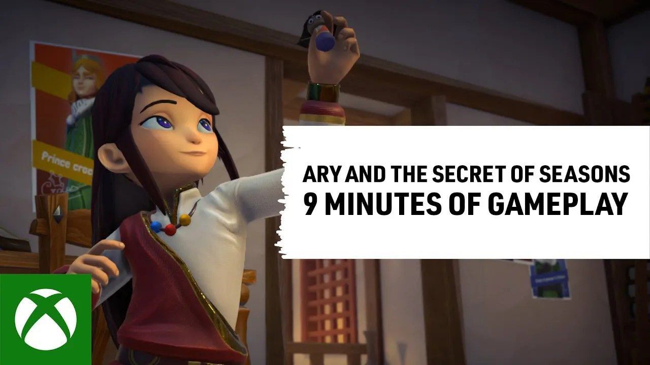Ary and the Secret of Seasons - Release Date Gameplay Spotlight