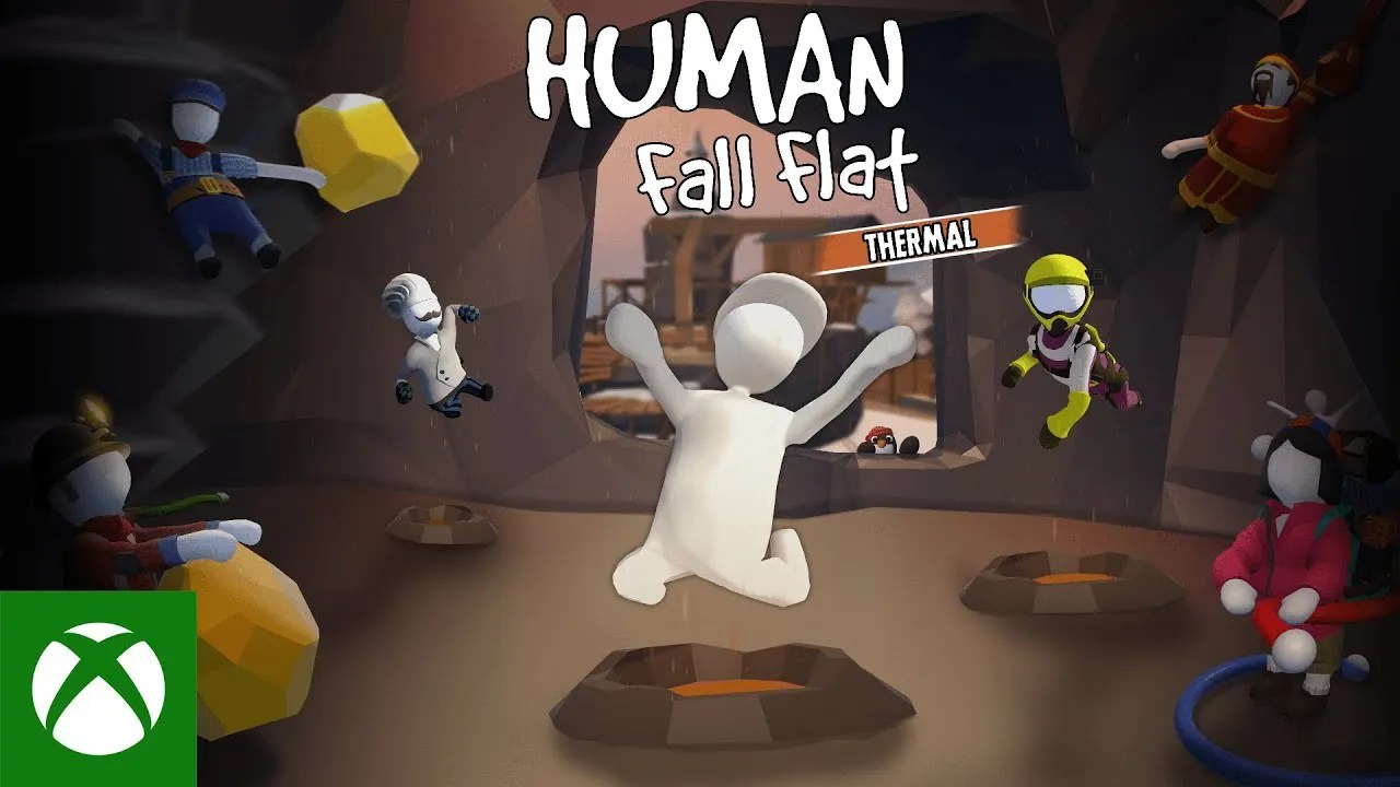 Human: Fall Flat - Official Thermal Level Launch Trailer