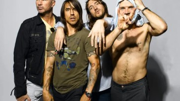 Red Hot Chili Peppers confirmados no NOS Alive em 2021
