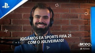 MODO PlayStation #46: JOGÁMOS EA SPORTS FIFA 21 COM O @JOliveira10!