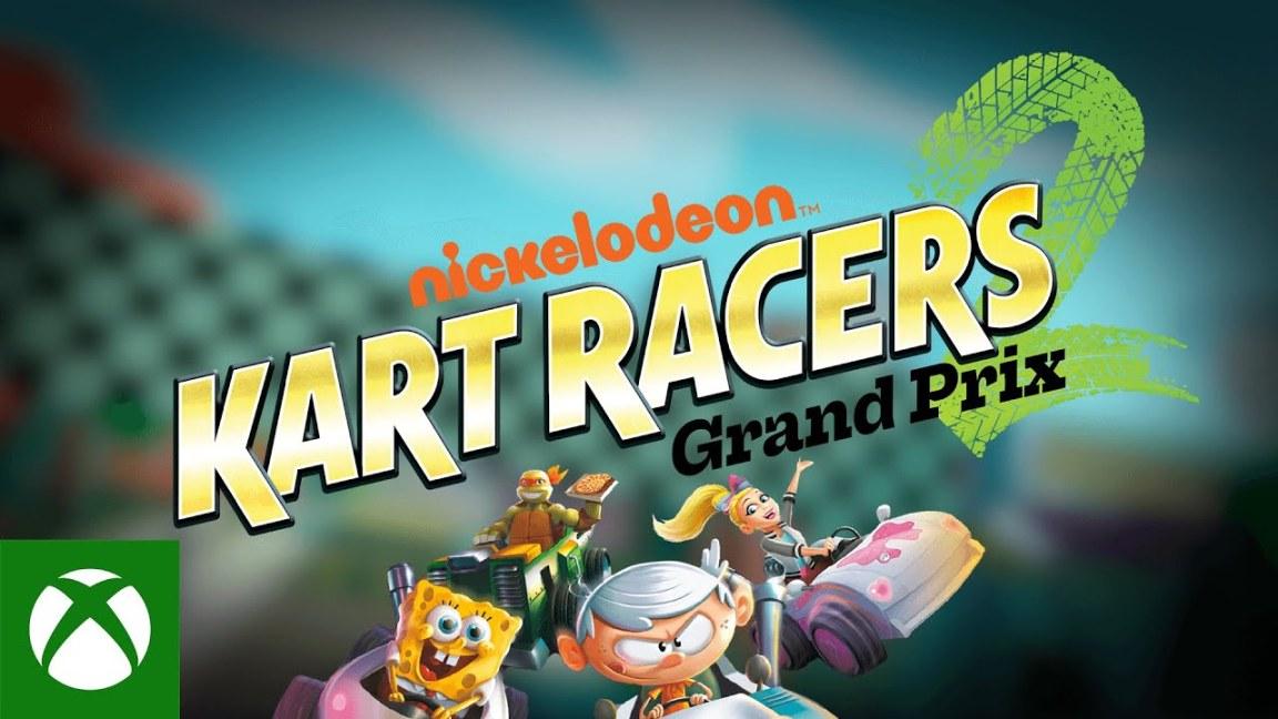 Nickelodeon Kart Racers 2 Announcement Trailer