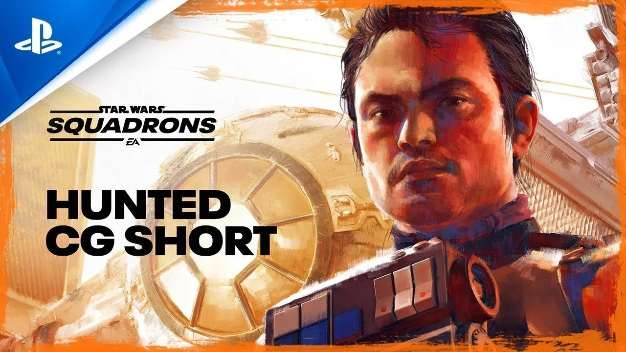 "Star Wars: Squadrons | Trailer cinemático ""Hunted"" 
