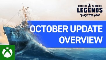 World of Warships: Legends - October Update Overview Trailer