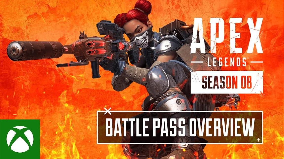 Apex Legends Season 8 – Mayhem Battle Pass Trailer, Apex Legends Season 8 – Mayhem Battle Pass Trailer