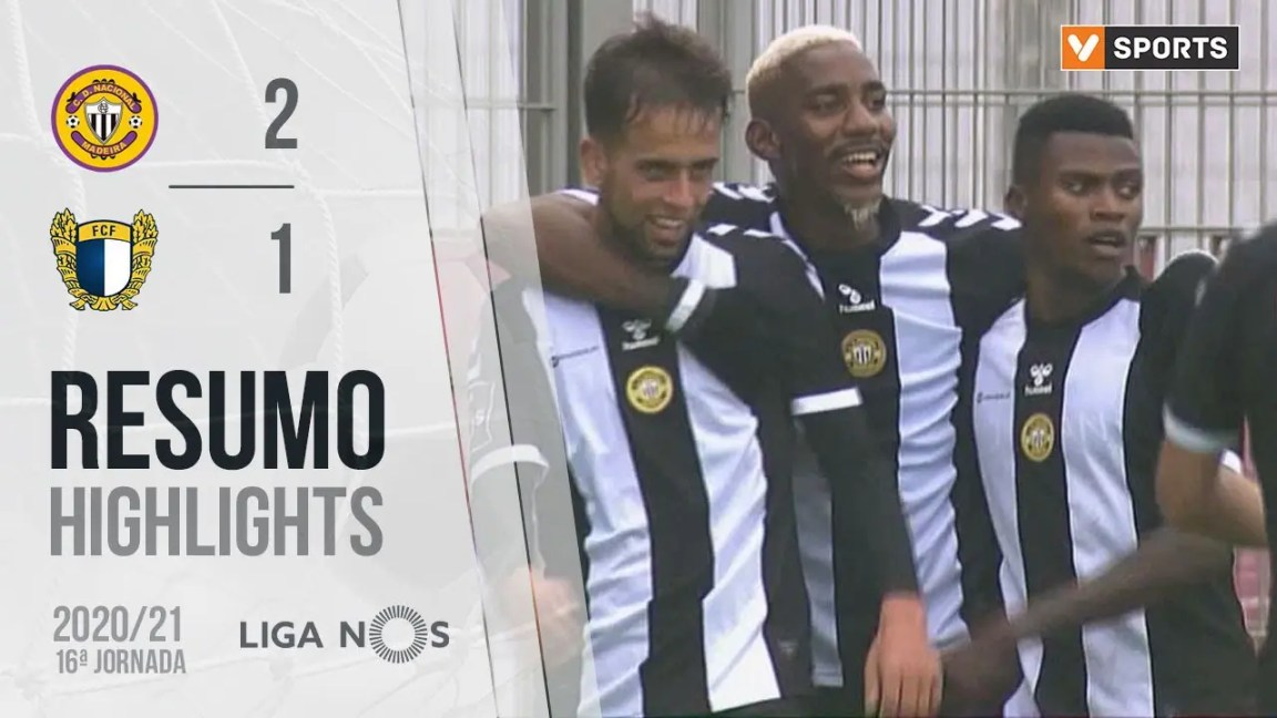 Highlights | Resumo: CD Nacional 2-1 Famalicão (Liga 20/21 #16)