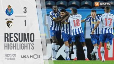 Highlights | Resumo: FC Porto 3-1 Portimonense (Liga 20/21 #7)