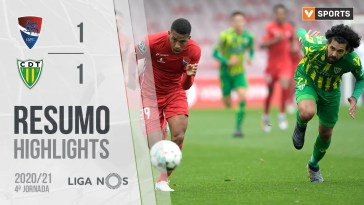 Highlights | Resumo: Gil Vicente 1-1 Tondela (Liga 20/21 #4)