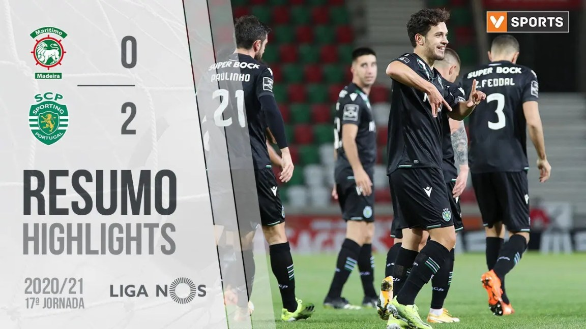 Highlights | Resumo: Marítimo 0-2 Sporting (Liga 20/21 #17)