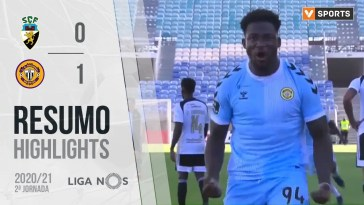 Highlights | Resumo: SC Farense 0-1 CD Nacional (Liga 20/21 #2)