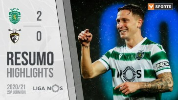 Highlights | Resumo: Sporting 2-0 Portimonense (Liga 20/21 #20)