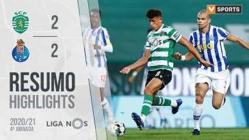 Highlights | Resumo: Sporting 2-2 FC Porto (Liga 20/21 #4)