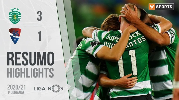 Highlights | Resumo: Sporting 3-1 Gil Vicente (Liga 20/21 #1)