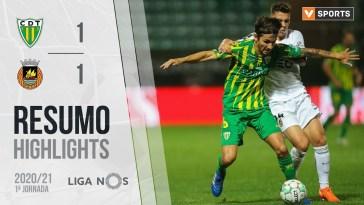 Highlights | Resumo: Tondela 1-1 Rio Ave (Liga 20/21 #1)