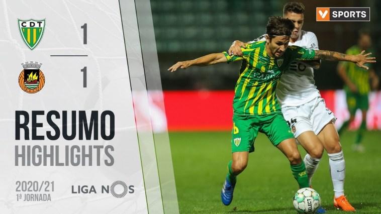 Highlights   Resumo: Tondela 1-1 Rio Ave (Liga 20/21 #1)