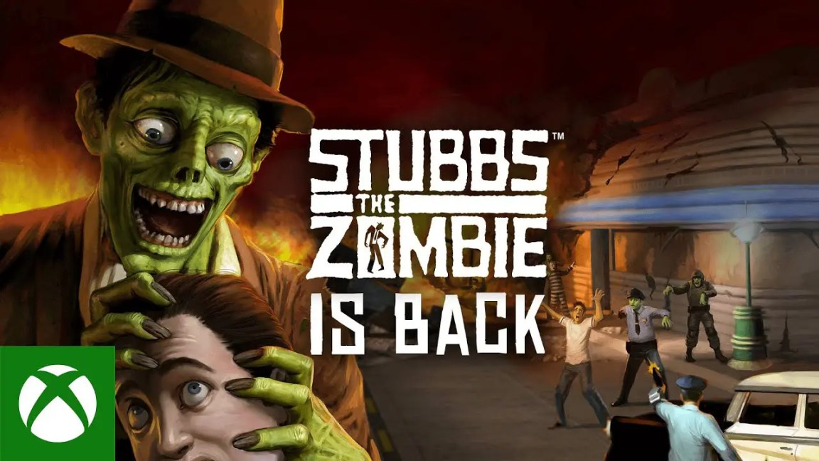 Stubbs the Zombie - Announce Trailer, Stubbs the Zombie – Announce Trailer