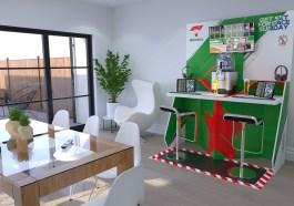 heineken, Heineken vai 'conduzir' um pitwall de F1 até à casa de um consumidor