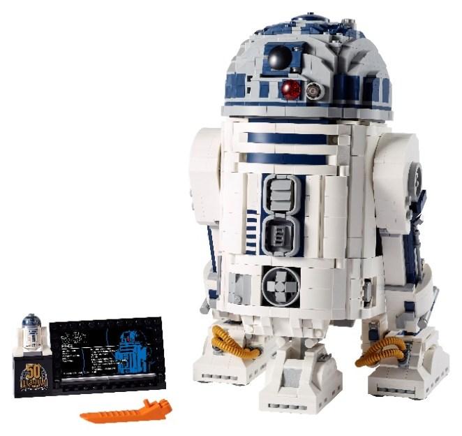 lego, LEGO anunciou o set de construção de R2-D2 de Star Wars
