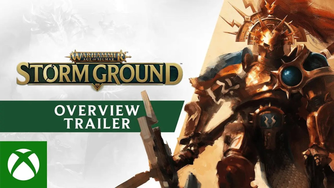 , Warhammer Age of Sigmar: Storm Ground – Gameplay Overview Trailer