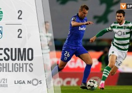 Highlights | Resumo: Sporting 2-2 Belenenses SAD (Liga 20/21 #28)
