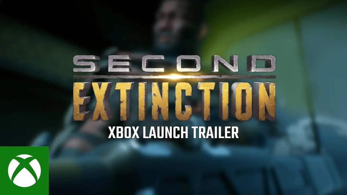 , Second Extinction Game Preview Trailer