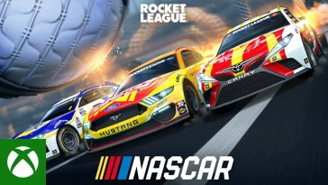 , Rocket League — NASCAR 2021 Fan Pack Trailer