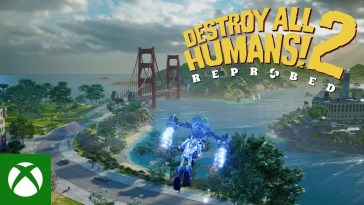 Destroy All Humans 2 – Reprobed – Gameplay Trailer, Destroy All Humans 2 – Reprobed – Gameplay Trailer