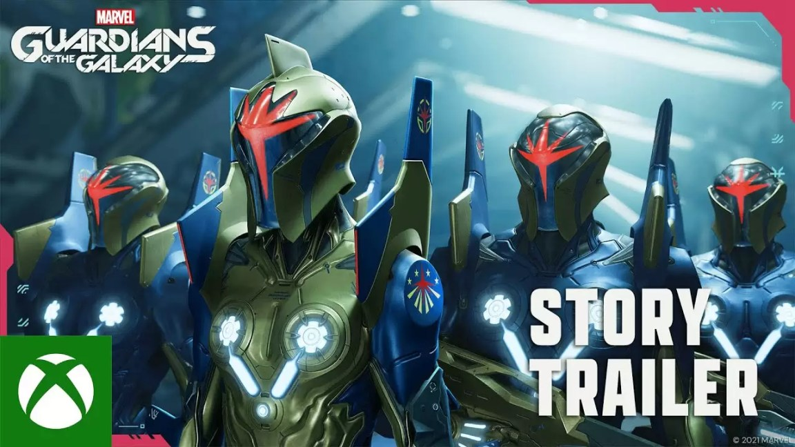 Marvel's Guardians of the Galaxy - Story Trailer, Marvel's Guardians of the Galaxy – Story Trailer