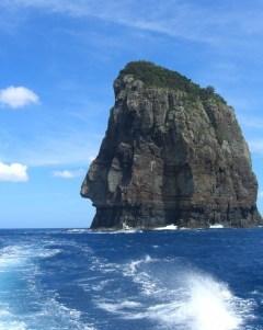 迫力のナポレオン岩