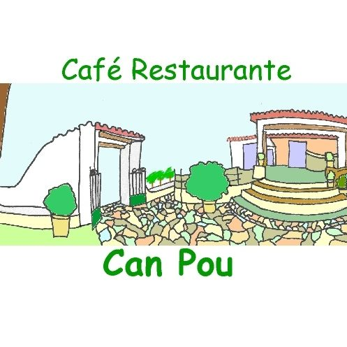 Café Restaurante Can Pou logo