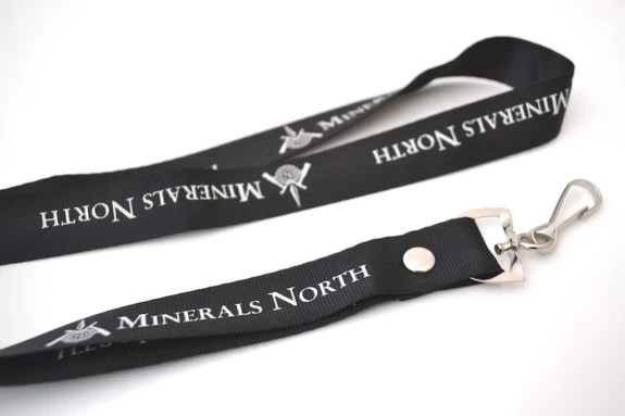 Custom Polyester Lanyards Black