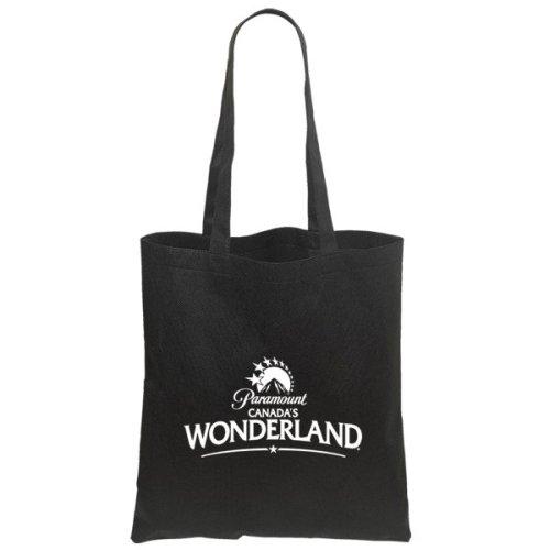 custom budget tote bags black