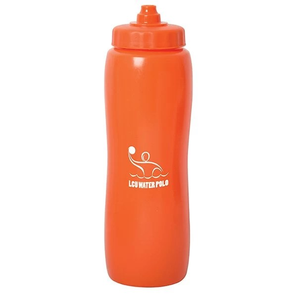 Valais Squeeze Water Bottle - ornage