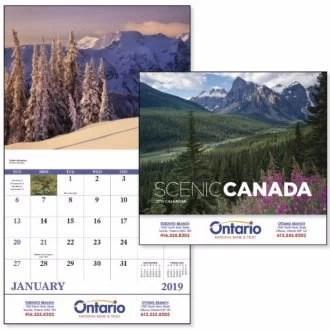scenic Canada custom calendar