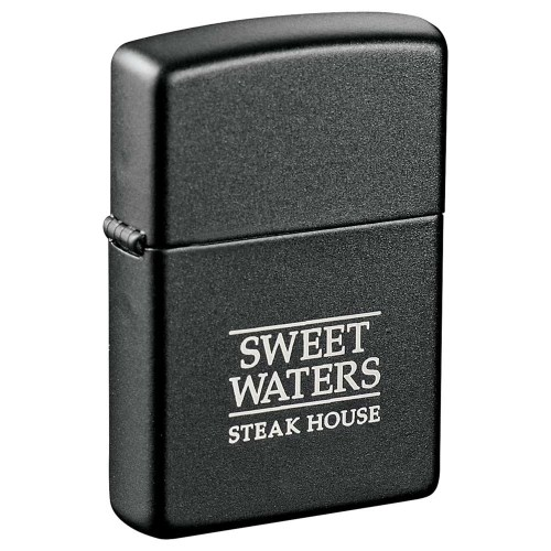 Zippo Windproof Custom Lighter black