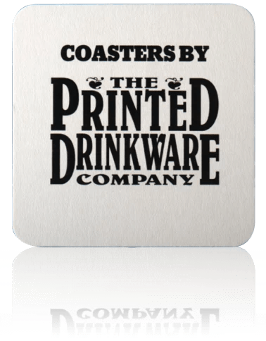 Square Pulp Board Custom Coaster