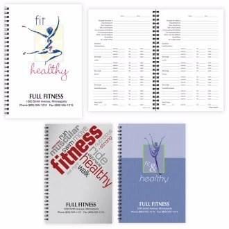 Custom Fitness Notebook
