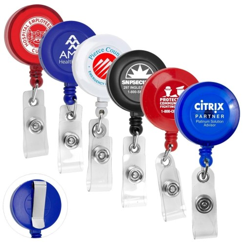 Retractable Custom Badge Holder