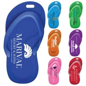 Sandal Luggage Bag Tag