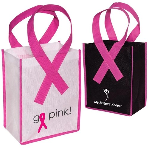 Small Breast Cancer Awareness Bag