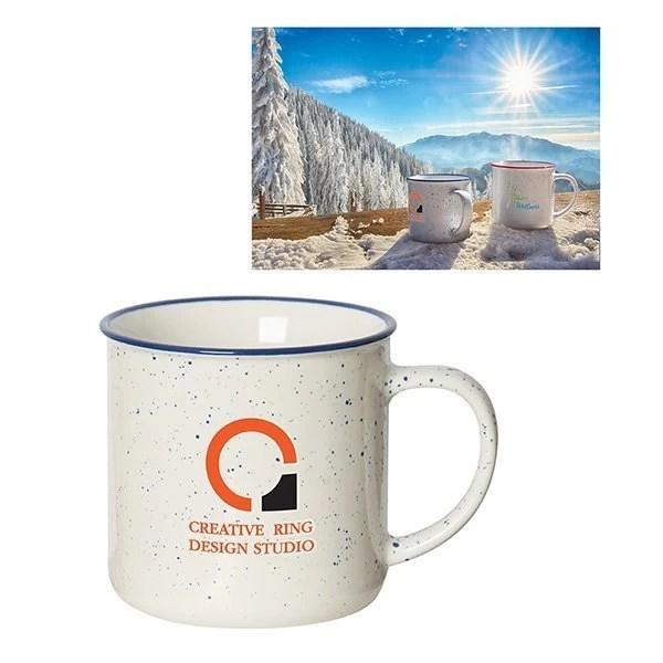 Beach House Speckled Mug